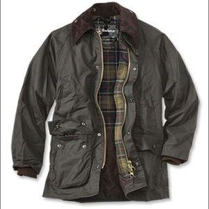 Barbour Bedale wax jacket w/ zip-in liner